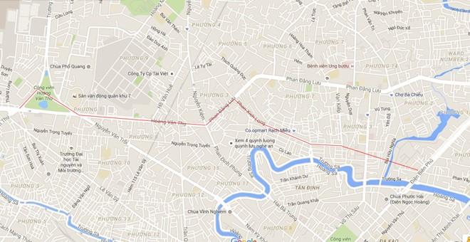 Tuyến đường trên cao số 1 dài gần 10 km.