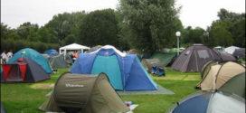 Khu vực căm trại ngay trong dự án sài gòn village
