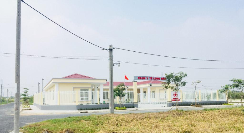 Trạm y tế long hậu
